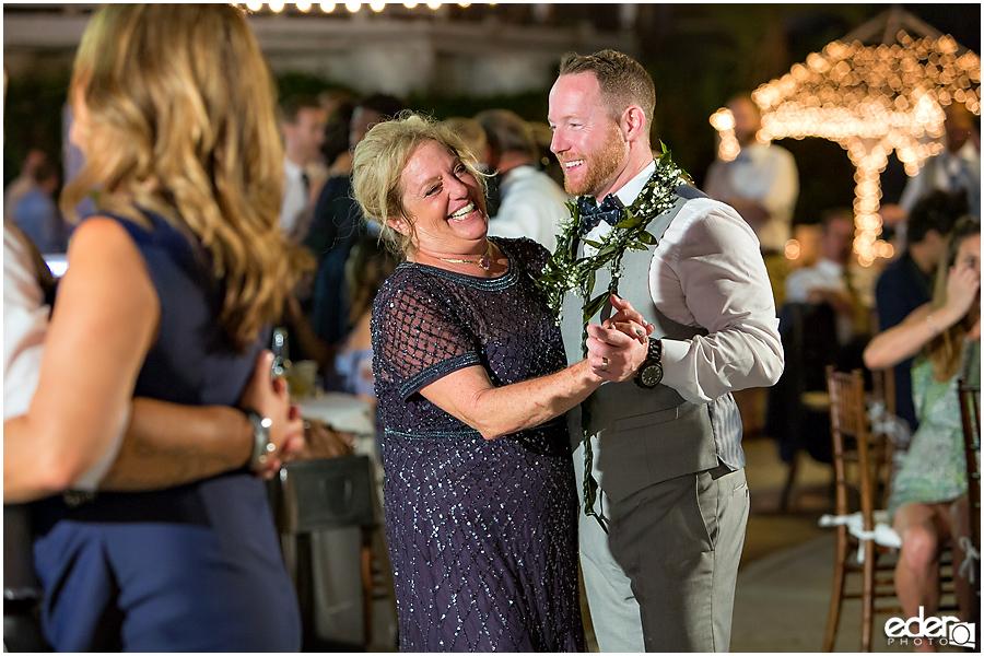 Laguna Beach Wedding at Occasions - parent dance