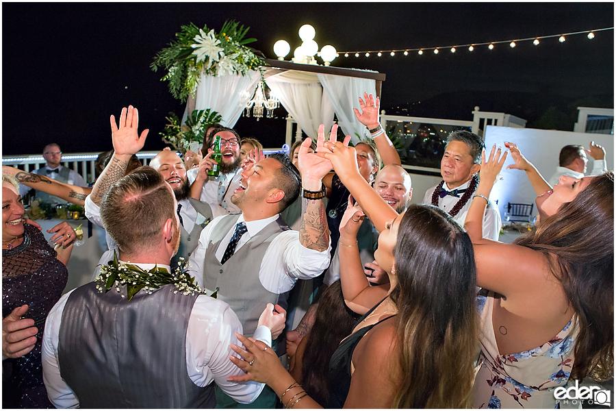 Laguna Beach Wedding at Occasions - reception dancing