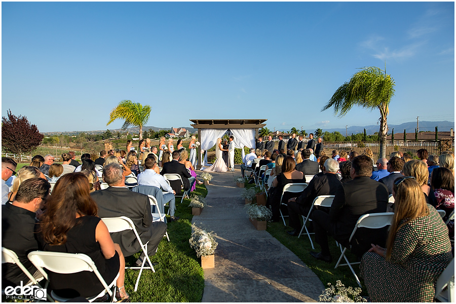 Private Estate Wedding Ceremony: