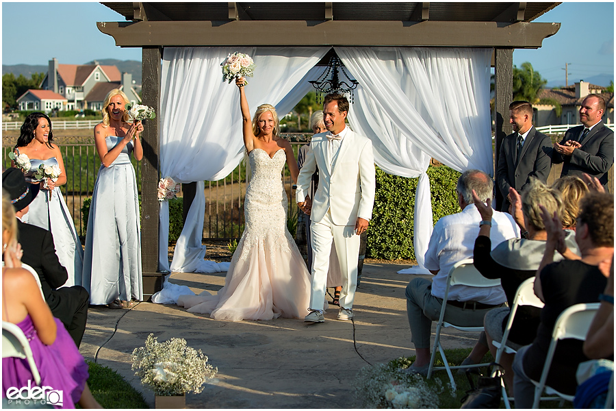 Private Estate Wedding Ceremony: celebration