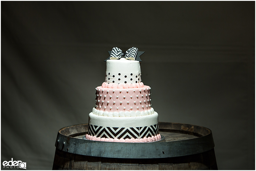Private Estate Wedding cake photo