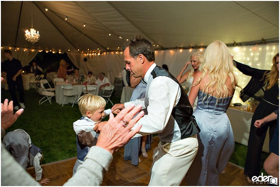 Private Estate Wedding Reception open dancing