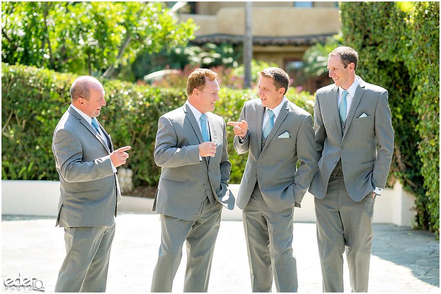 The Thursday Club Wedding - groomsmen
