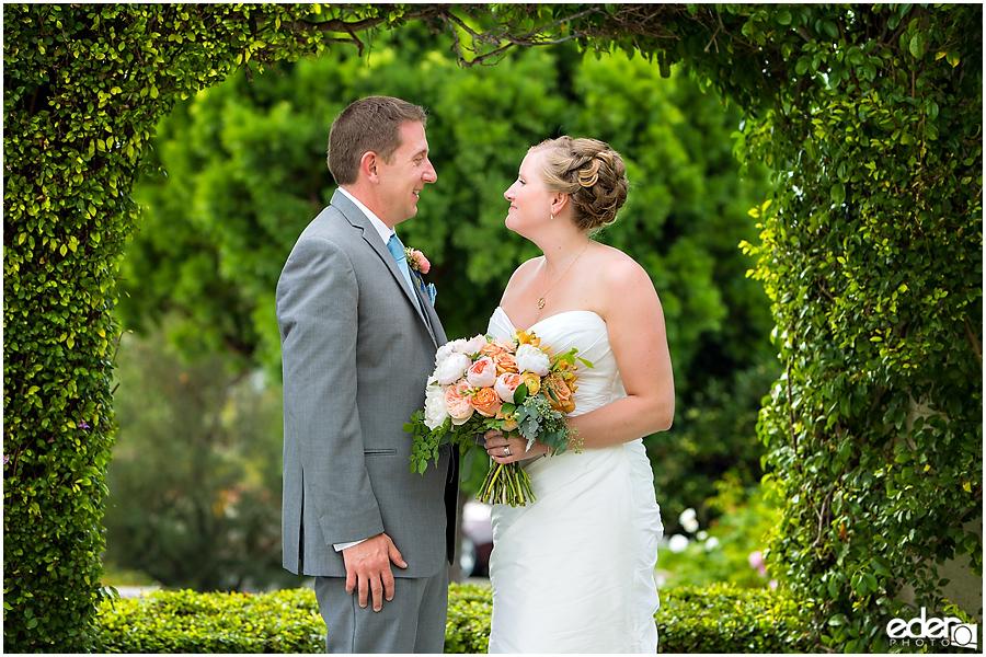 The Thursday Club Wedding - bride and groom