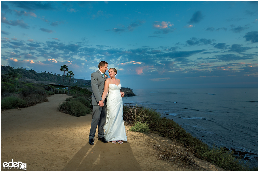 The Thursday Club Wedding - Sunset Cliffs portraits