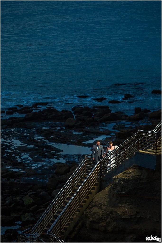 The Thursday Club Wedding - Sunset Cliffs portraits