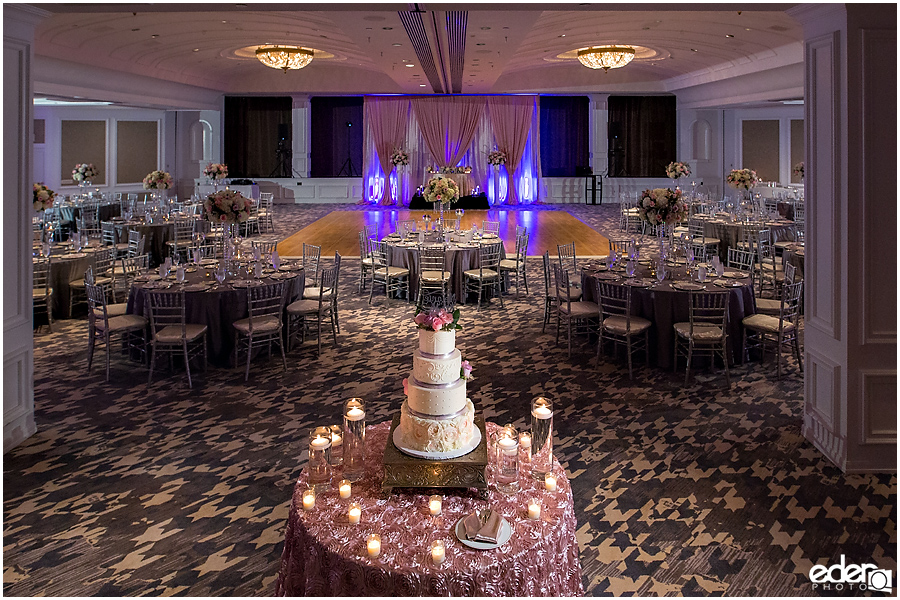 Wedding at The US Grant - photo of Presidential Ballroom.