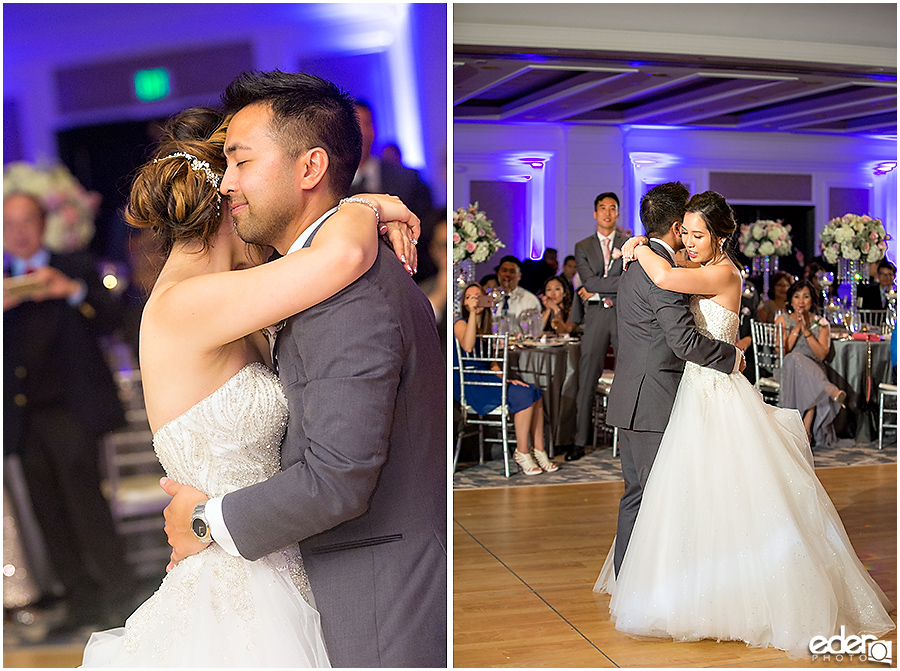 Wedding at The US Grant - photo of first dance.