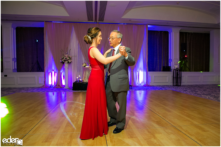 Wedding at The US Grant - photo of parent dances.