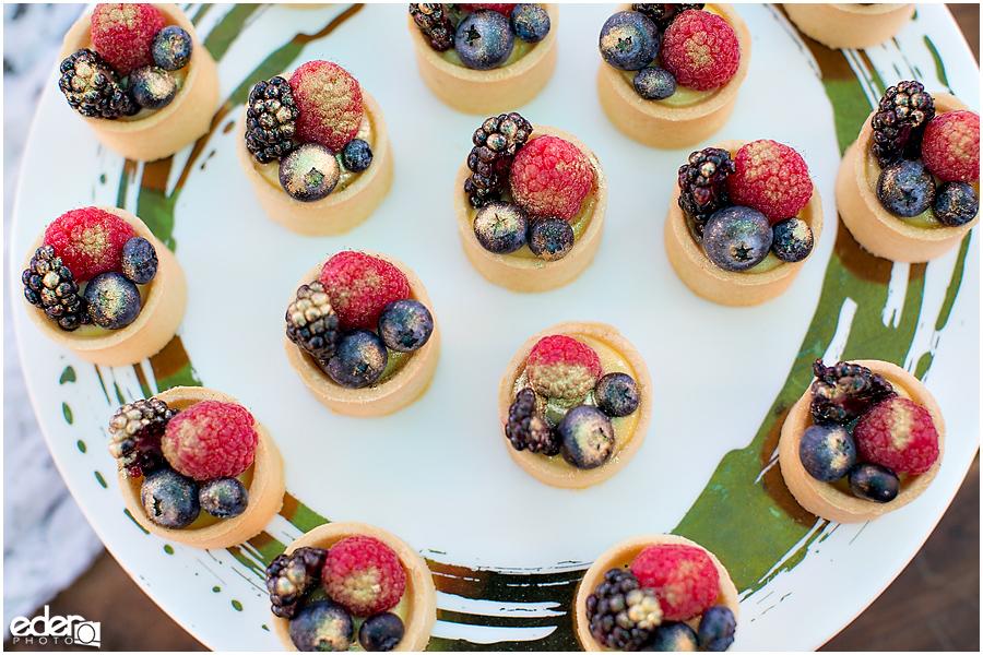 Francis Parker School Wedding - dessert table photos