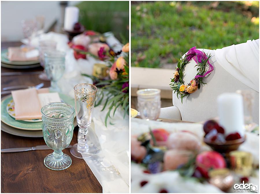 Francis Parker School Wedding - decor photos