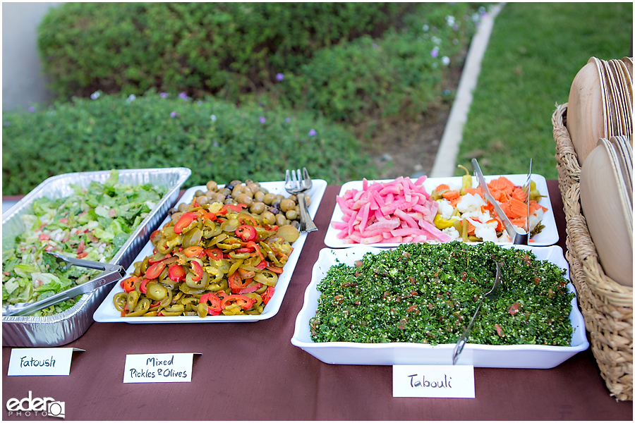Francis Parker School Wedding - catering