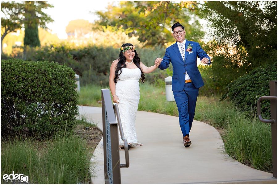 Francis Parker School Wedding - grand entrance