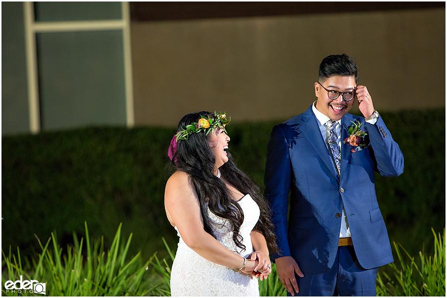 Francis Parker School Wedding reception toasts