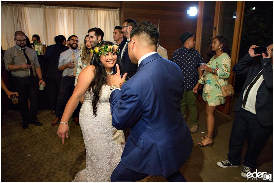 Francis Parker School Wedding reception dancing