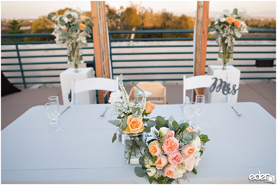 San Diego Natural History Museum Wedding -reception details photo