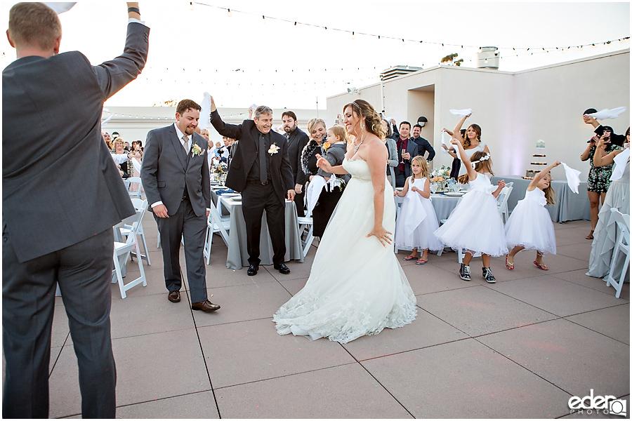 San Diego Natural History Museum Wedding Reception -