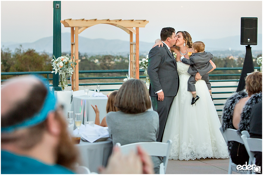 San Diego Natural History Museum Wedding Reception -