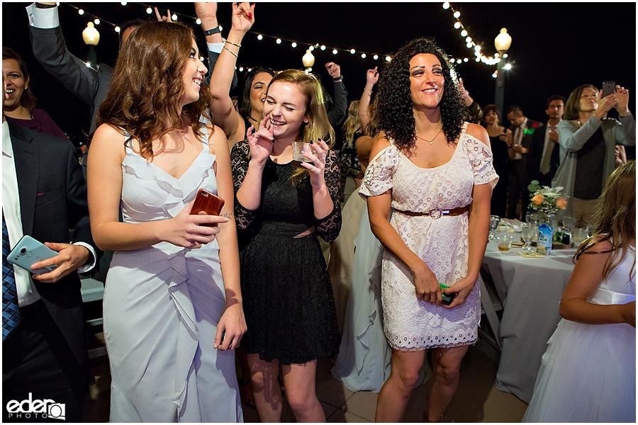 San Diego Natural History Museum Wedding Reception - dancing