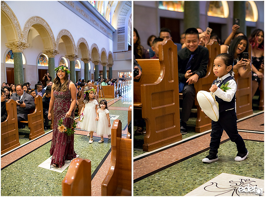 The Immaculata Wedding - processional