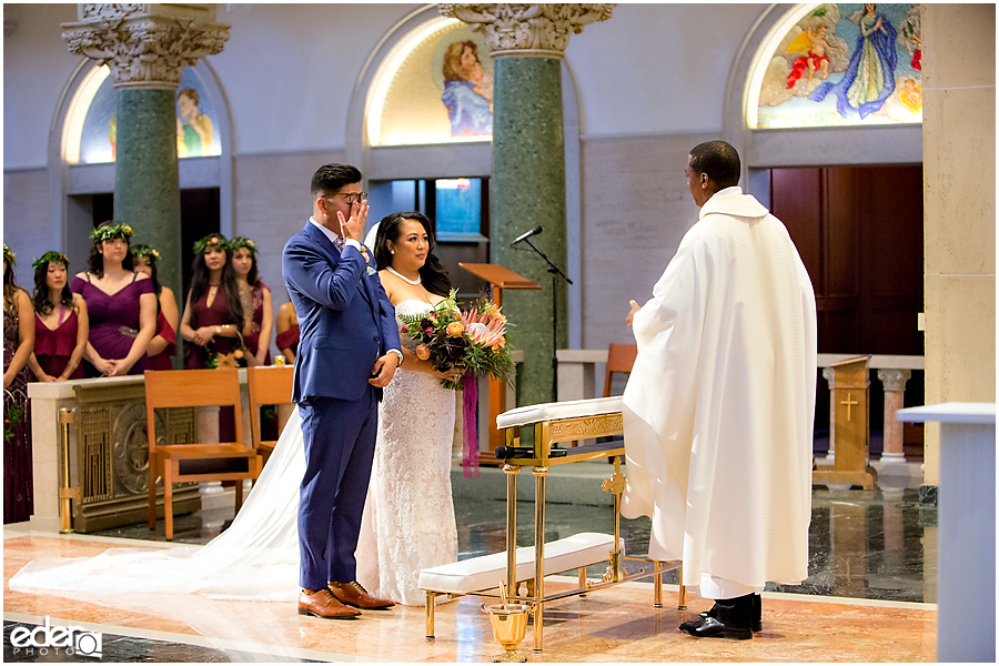 The Immaculata Wedding Ceremony