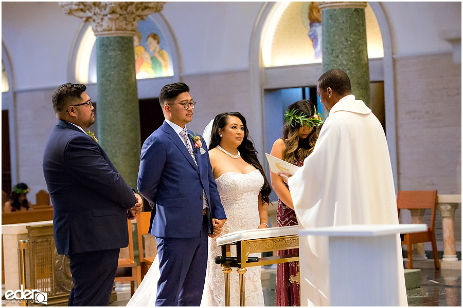 The Immaculata Wedding Ceremony vows