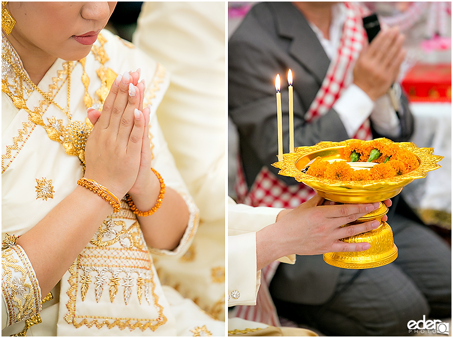 Lao Wedding Ceremony candles