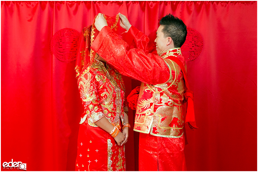 Chinese wedding unveling
