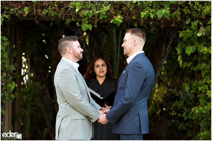 San Diego County Building Elopement Ceremony