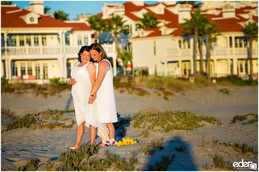 Coronado Beach Elopement -