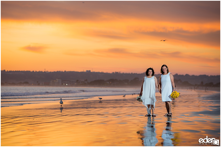 Coronado Beach Elopement -