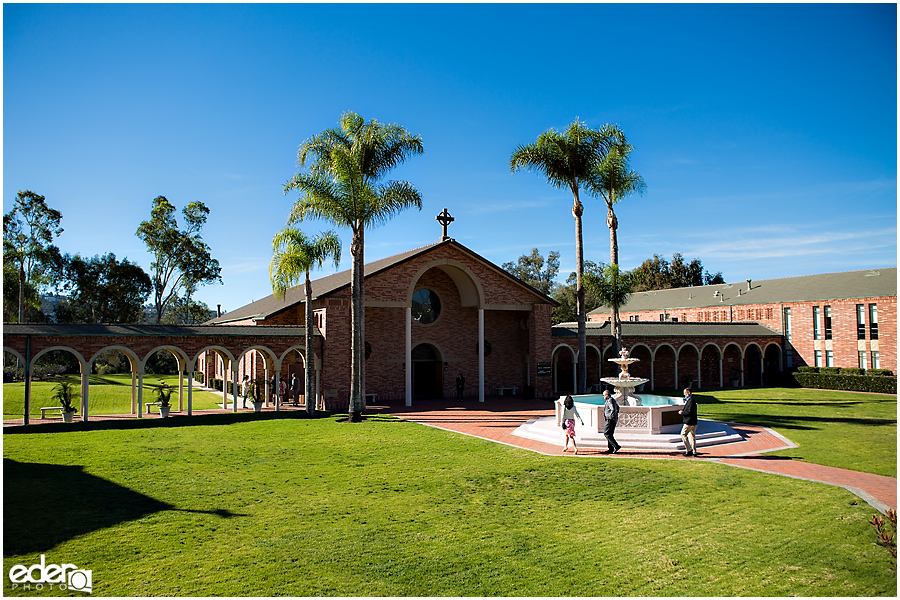 Small Winter Wedding La Jolla - photo of Torrey Pines Church