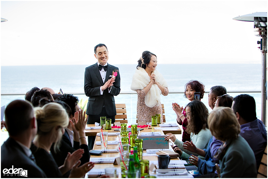Duke's La Jolla Wedding Reception