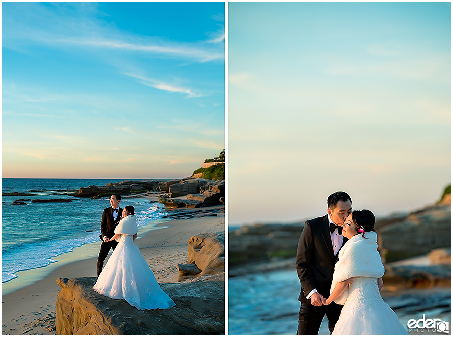 Small Winter Wedding La Jolla -