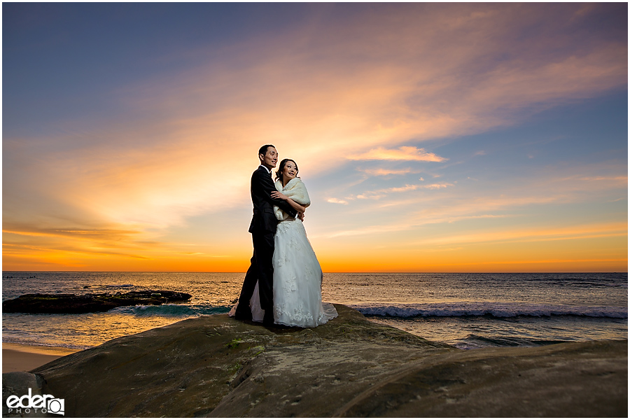 La Jolla Small Winter Wedding