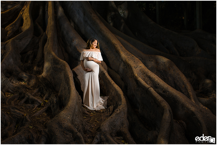 The best Balboa Park maternity session.