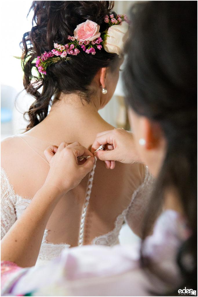 Kona Kai Wedding getting ready photo.