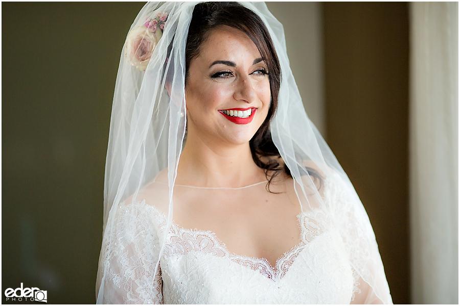 Kona Kai Wedding photo of bride.