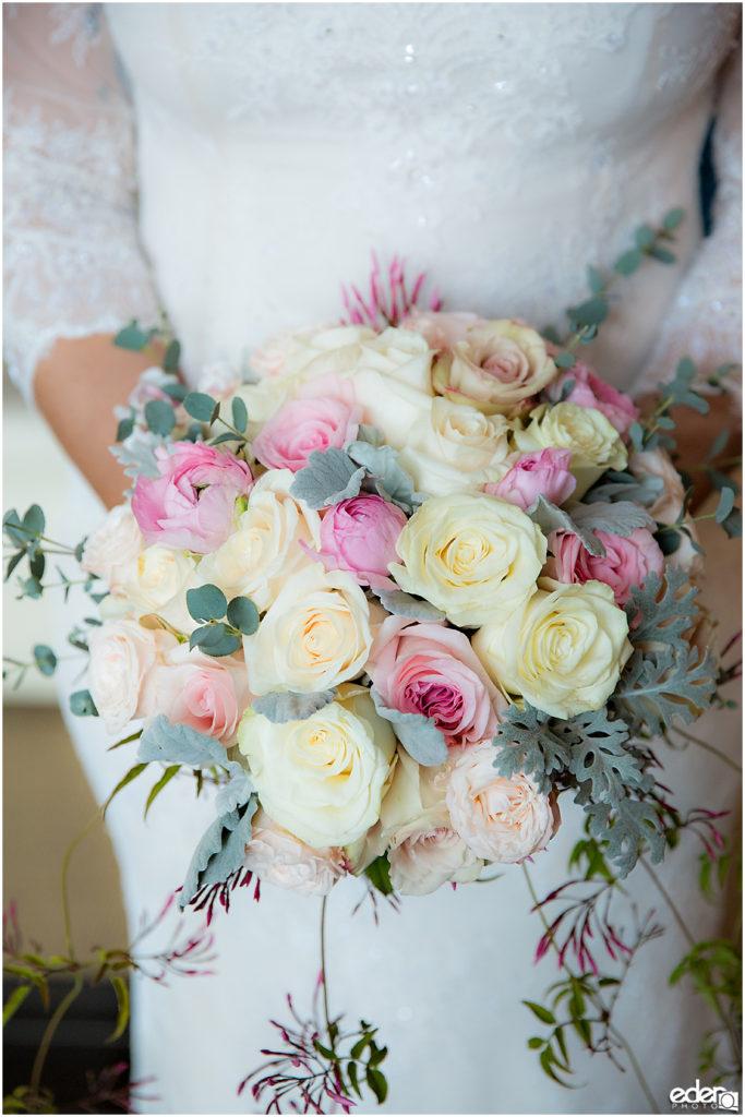 Kona Kai Wedding detail photo of bouquet.
