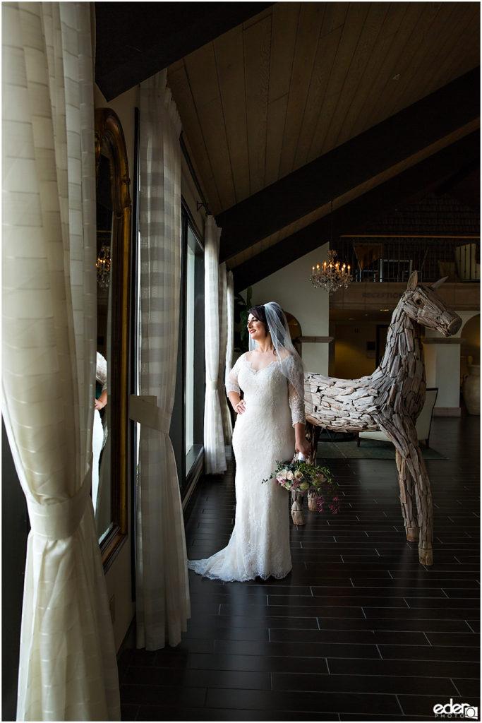 Kona Kai Wedding portrait of bride.