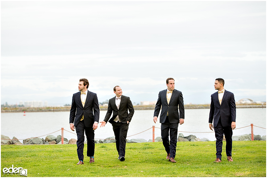 Kona Kai Wedding groomsmen portraits.
