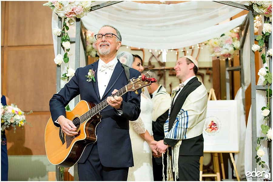 Ohr Shalom Synagogue wedding singing.