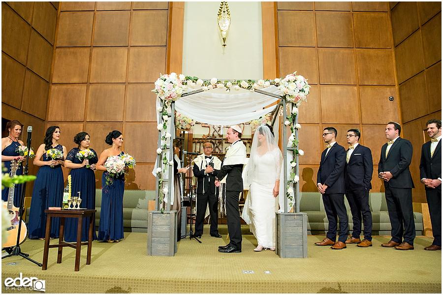 Ohr Shalom Synagogue wedding 7 circles.