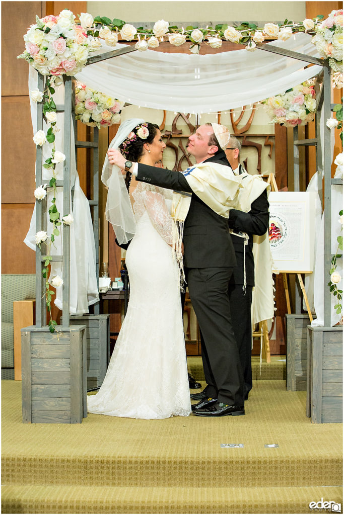 Ohr Shalom Synagogue wedding veil.