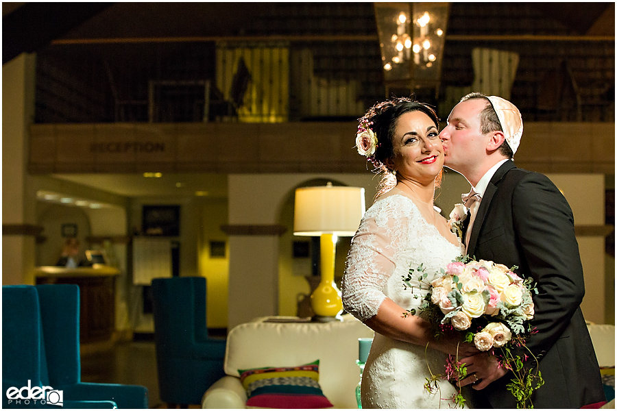 Kona Kai Wedding portrait of bride and groom.