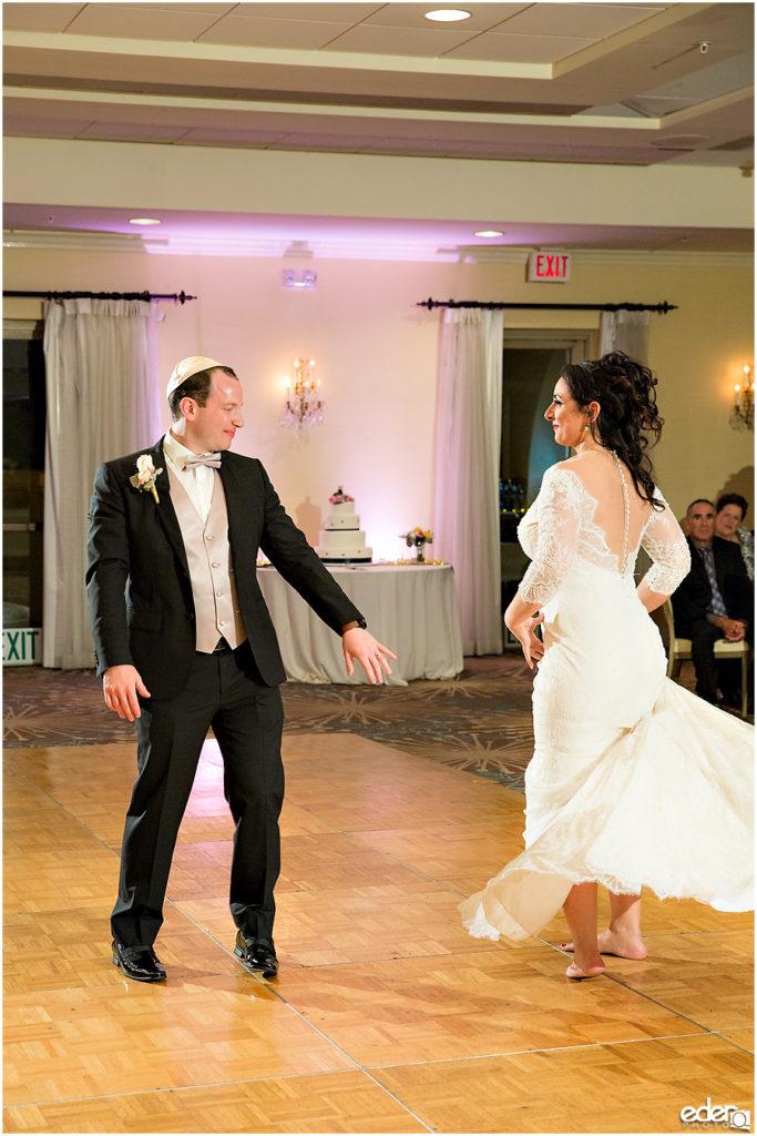 Kona Kai Wedding reception first dance.