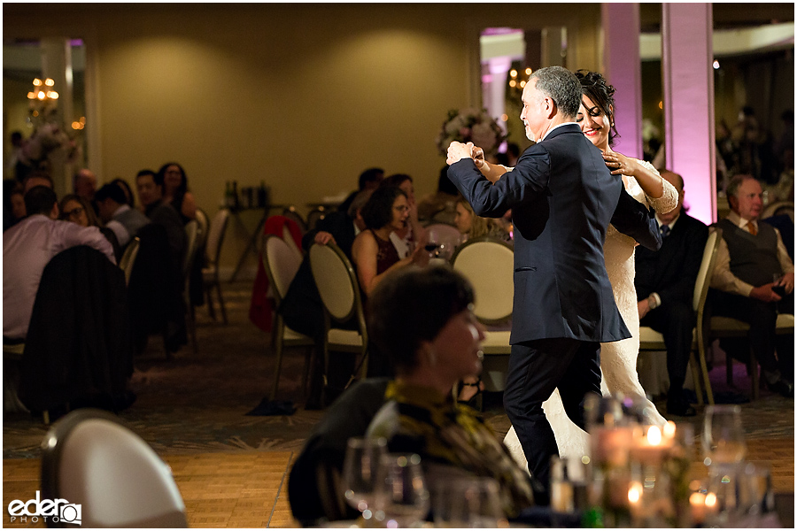 Kona Kai Wedding reception father daughter dance.