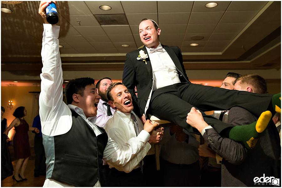Kona Kai Wedding reception dancing photo.