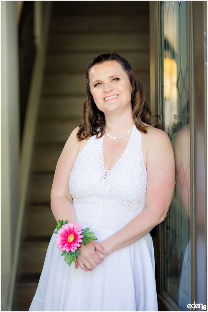 ZLAC Rowing Club Wedding bride photo