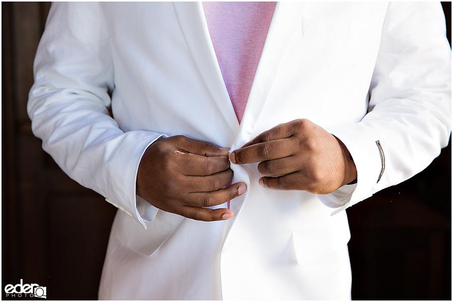 ZLAC Rowing Club Wedding groom photo